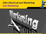 John Church of Just Marketing_ Just Marketing