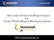 Toronto web design company_website design development services in toro