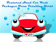 Featured Exterior Hand Car Wash Packages from Detailing World