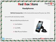 Vehicle Accessories - Red Box Store