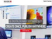 Digital Signage Software - Digital Signage - NAVORI SOFTEARE
