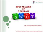 Lean SWOT Analysis in 2 Minutes
