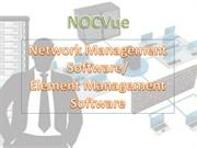 NOCVue-Unified Management Software