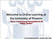 Online Learning RMF PT 1