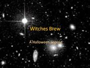 Witches Brew literary language 2 minus w