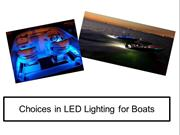 Choices in LED Lighting for Boats