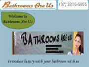 Bathroom Renovations in Brisbane - Bathrooms Are Us