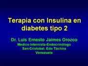 Insulina en diabetes mellitus tipo 2