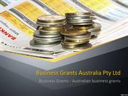 Get Small Business Grants