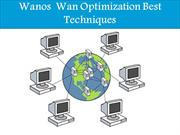 Wanos  Wan Optimization Best Techniques
