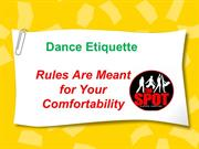 Dance Etiquette – Tips To Dance With others