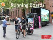 Running Boards-Taking your business message to the prospective custome