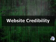 Narrated Website Credibility