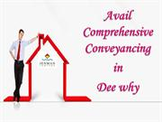 Avail Comprehensive Conveyancing in Dee why