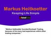 Markus Heitkoetter_Keeping Life Simple