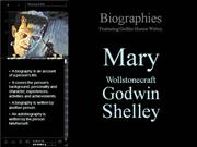 Biographies Featuring Mary Shelley