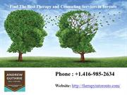 Find the Best Therapy and Counseling Services in Toronto