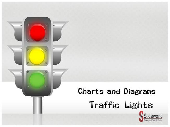 traffic signs chart-powerpoint template, Powerpoint templates