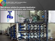 Best advance solution for seawater desalination
