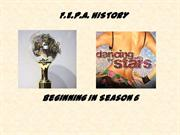 FEPA CHAMPIONS - DANCING WITH THE STARS