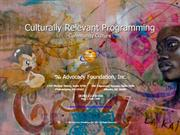 Culturally Relevant Programming - Community Culture