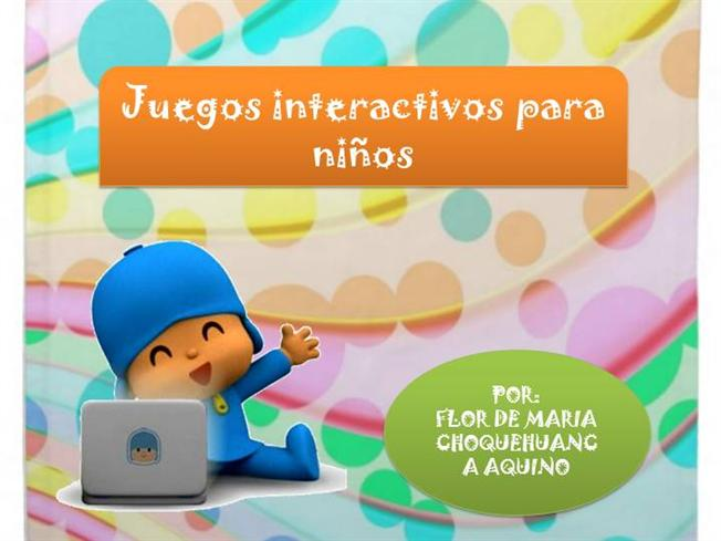 Juegos Interactivos Para Ninos De Nivel Inicial Authorstream