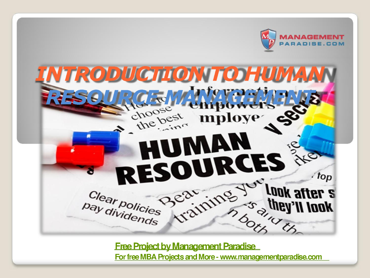 Human resource management functions applications amp skill development - Related Presentations