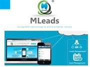 MLeads platform for lead management and event management automation