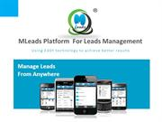 All in one sales and marketing automation platform-MLeads