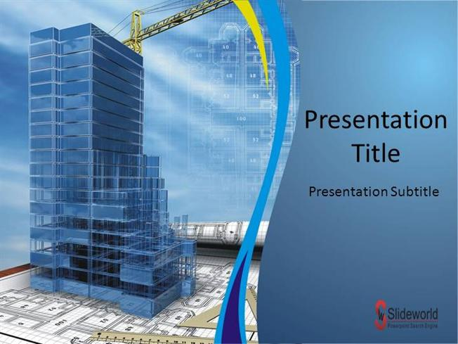 Construction 3 Powerpoint Template