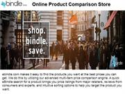 Online Comparison Shopping