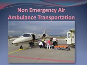 Non Emergency Air Ambulance Transportation-ddmedtrans