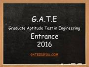 Gate Coaching Classes Bangalore - Preparation tips - gateiespsu.com