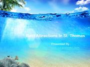 Best Attractions In St. Thomas