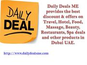 Discount on Daily Deals by Popular Deals Provider in UAE