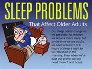 Sleep Problems That Affect Adults