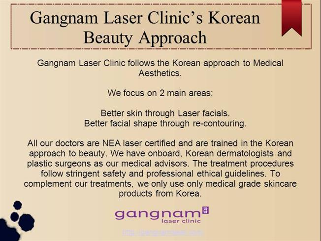 Gangnam Laser Clinic'S Follow Korean Beauty Approach