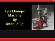 Change Tyre With Latest Tyre Changer Machine