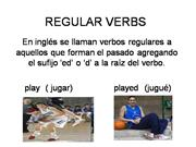 REGULAR VERBS 2009