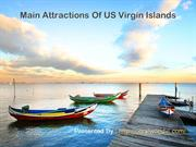 Main Attractions Of US Virgin Islands