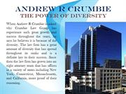 Andrew R Crumbie - The Power of Diversity