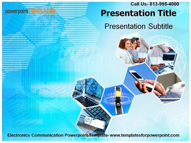Download the electronics communication powerpoint template authorstream toneelgroepblik Choice Image