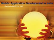 Mobile Application Development in india
