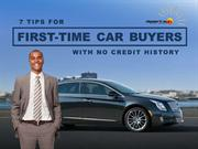 7 Tips For First-Time Car Buyers With No Credit History