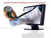Contract Guardian's Healthcare Contract Management