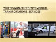 what is non-emergency transportation