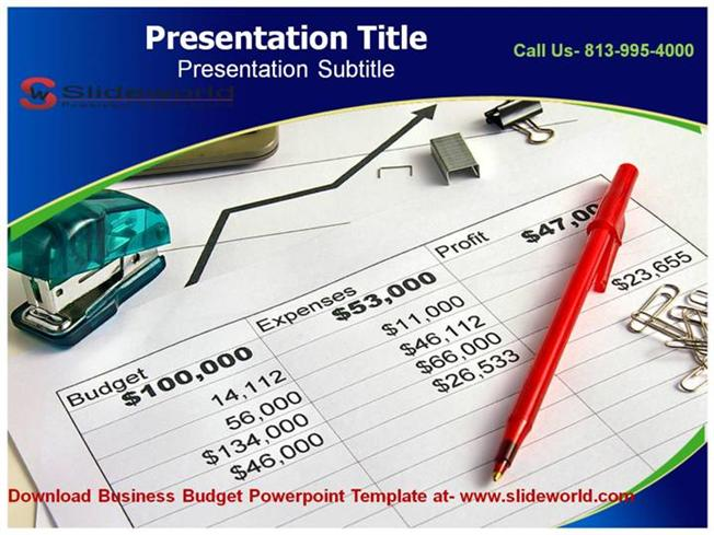 Business Budget Powerpoint Templates Authorstream
