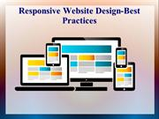 Responsive Website Design-Best Practices