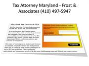 Tax Attorney Maryland