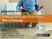 5 Things You Didn't Know About Water Damage